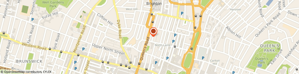 Route/map/directions to Duncan Lewis, BN1 3XF Brighton, 106 Queens Road