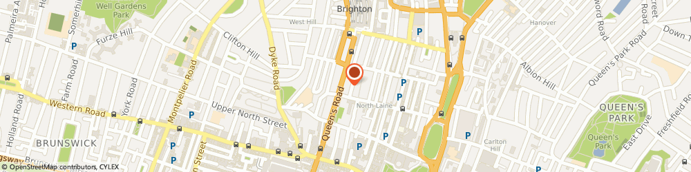 Route/map/directions to Krypsys Limited, BN1 3XF Brighton, 106 Queens Rd, 3rd Floor, Queensberry House