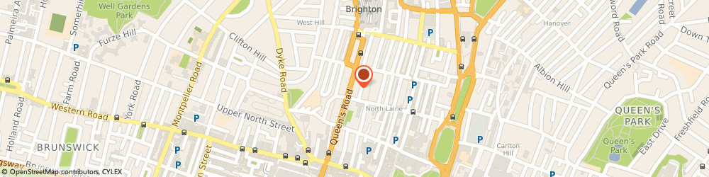 Route/map/directions to South Coast Lawyers, BN1 3XF Brighton, 3rd Floor, Queensberry House, 106 Queens Road