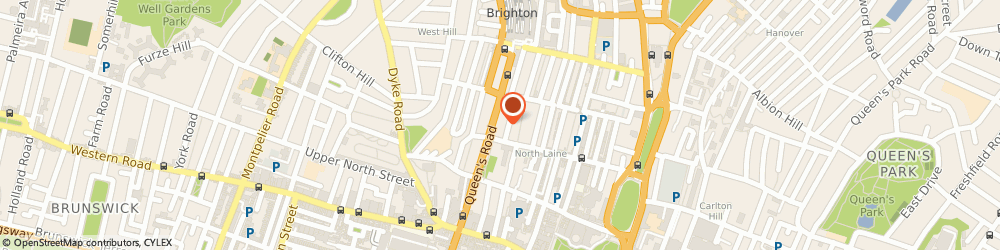 Route/map/directions to ETLS International, BN1 3WA Brighton, Queensberry House, 106 Queens Rd