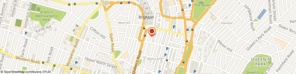 Route/map/directions to Futrli, BN1 3FG Brighton, 21 Upper N St, Second Floor, Crown House