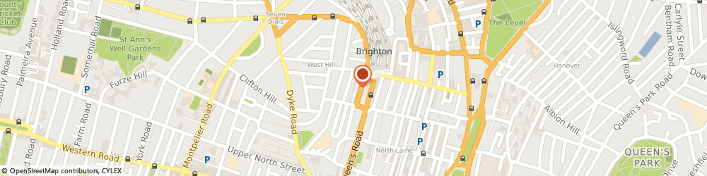 Route/map/directions to Mark Bassey Trombonist, BN1 3LR Brighton, CHELSEA HOUSE