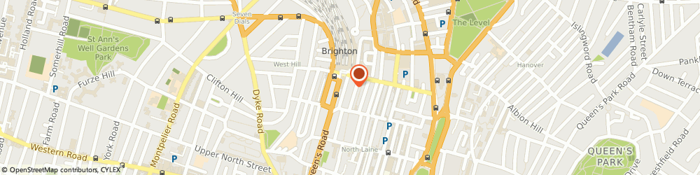 Route/map/directions to Paloma Systems Ltd, BN1 1AX Brighton, 2 Frederick Terrace, Frederick Place