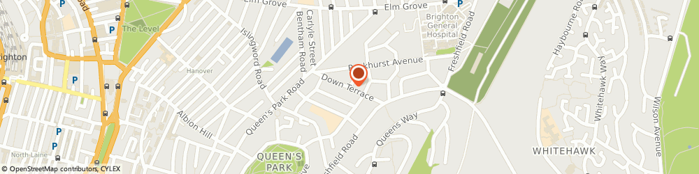 Route/map/directions to Brighton Occupational Therapy, BN2 9ZH Brighton, 54A Down Terrace