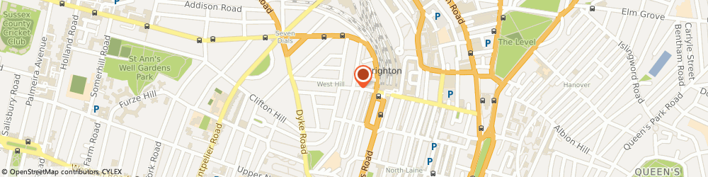 Route/map/directions to cFront Software, BN1 3LU Brighton, 18 GUILDFORD ROAD