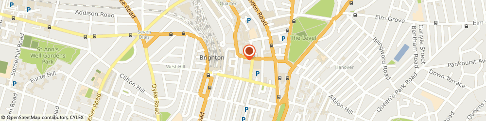 Route/map/directions to Iron Works Studios, BN1 4GD Brighton, 30 Cheapside