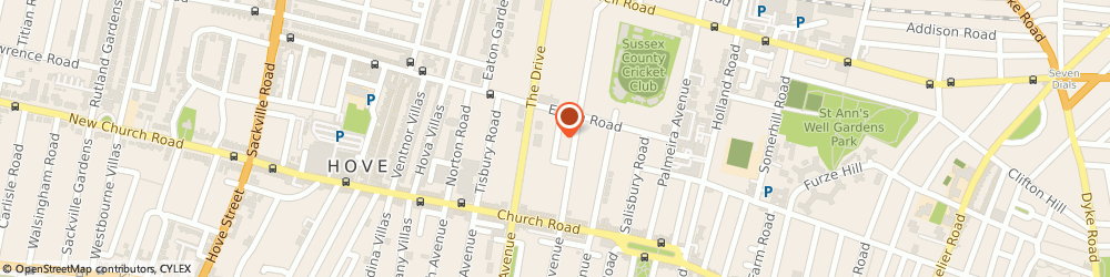 Route/map/directions to Space Doctors Ltd, BN3 3JQ Brighton, 16 Wilbury Grove