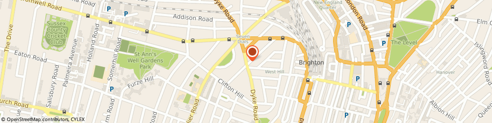 Route/map/directions to Seven Dials Osteopathy Clinic Brighton, BN1 3JE Brighton, 81 Dyke Road