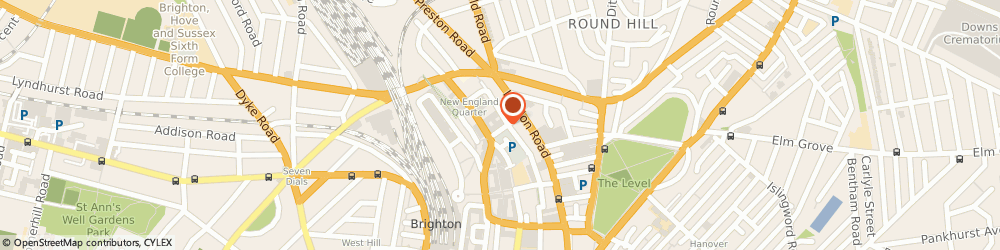 Route/map/directions to Loophole The, BN1 4GH Brighton, 640 New England St