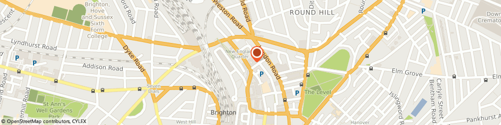 Route/map/directions to Aerotrope Limited, BN1 4GH Brighton, Unit 2 , Level 5 South, New England House, New England Street