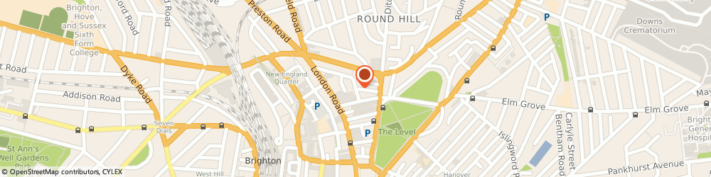 Route/map/directions to Piano Lessons in Brighton, BN1 4JR Brighton, 22 Kingsbury Rd
