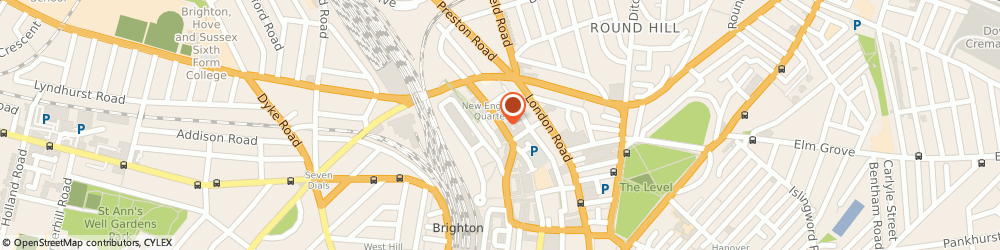 Route/map/directions to Miggle.Co.Uk, BN1 4GH Brighton, Unit 7, Level 5 N, New England House, New England Street