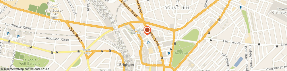 Route/map/directions to Vincent Dance Theatre, BN1 4GH Brighton, Level 8 Unit C North, New England House, New England St