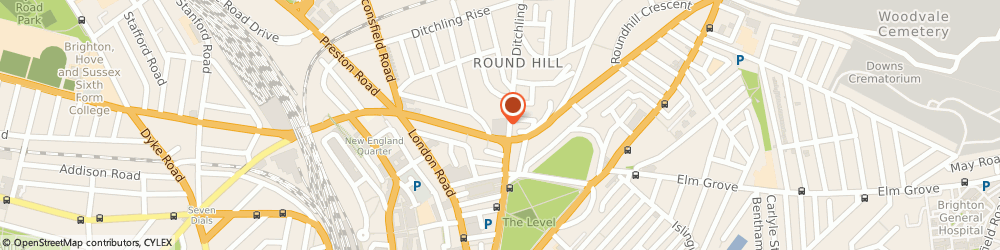 Route/map/directions to De Silva Structures, BN1 4ST Brighton, 95 Ditchling Road