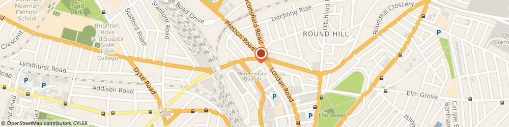 Route/map/directions to Core Chiropractic, BN1 4GW Brighton, 2 Circus Parade New England Rd
