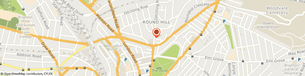 Route/map/directions to Net Monitor Ltd., BN1 4ST Brighton, Brighton Business Centre, 95 Ditchling Road