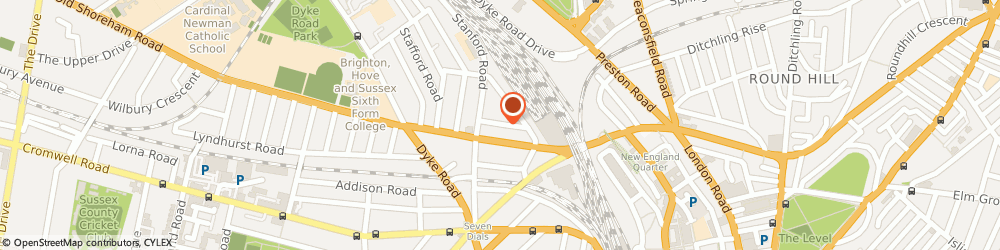 Route/map/directions to CAMPSITE MANAGEMENT LTD, BN1 5DP Brighton, 17 Bridgen Street