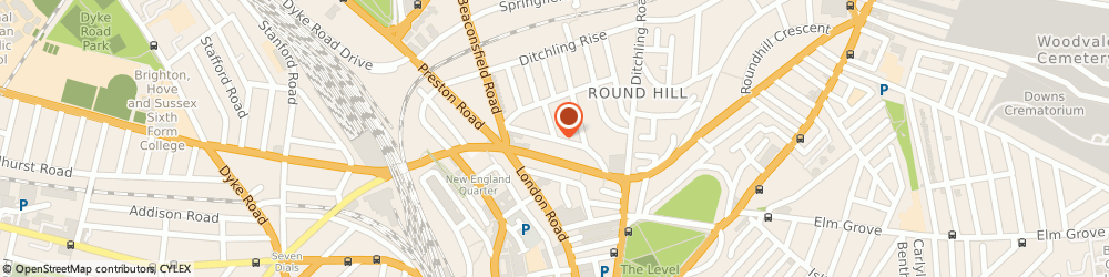 Route/map/directions to Holistic Massage Kneads, BN1 4NJ Brighton, Stanley Rd