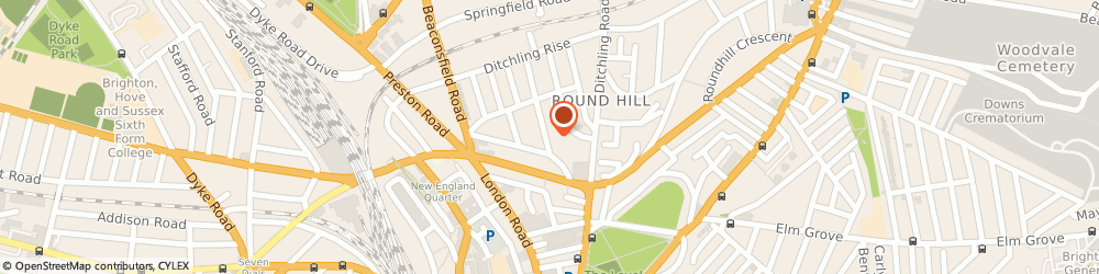 Route/map/directions to Lapis Solutions, BN1 4NF Brighton, 32 SHAFTESBURY RD