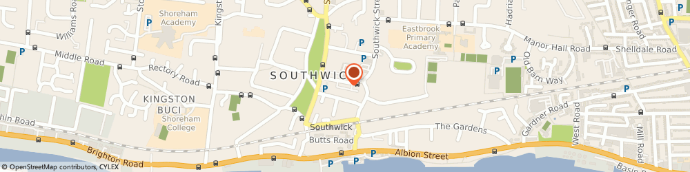 Route/map/directions to The Dog House, BN42 4FP Brighton, 33 Southwick Square