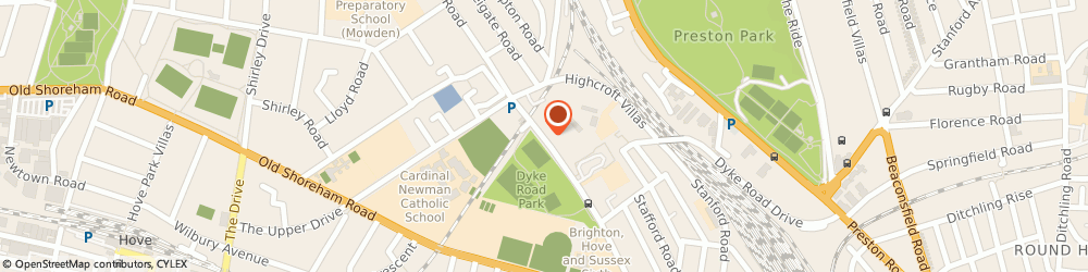 Route/map/directions to The Esselle Beat Co, BN1 5AA Brighton, SOUTH LDG 196 DYKE RD