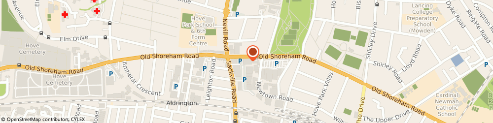 Route/map/directions to Brighton Business IT, BN3 7BD Brighton, Gemini Business Centre, 136-140 Old Shoreham Road