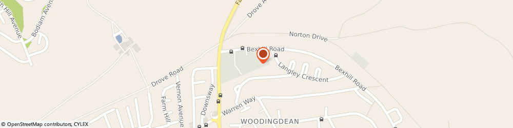Route/map/directions to PH BUXTON & SONS LTD, BN2 6NX Brighton, Sea View Way, Unit 6, Woodingdean Business Park