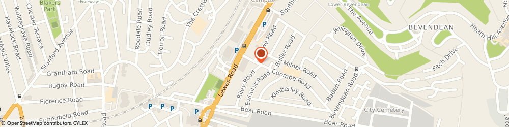 Route/map/directions to Sharps Pharmacy, BN2 4EA Brighton, 26 Coombe Road