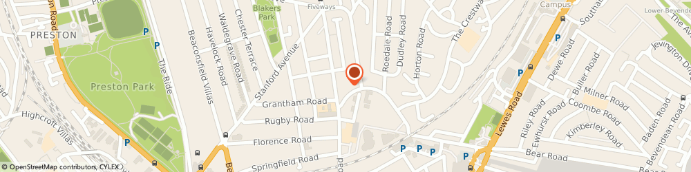 Route/map/directions to Brighton Damp Proofing, BN1 7DX Brighton, Link Place, Link House