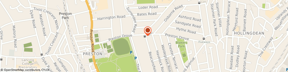 Route/map/directions to Kamsons Pharmacy, BN1 6LB Brighton, 94 Preston Drove