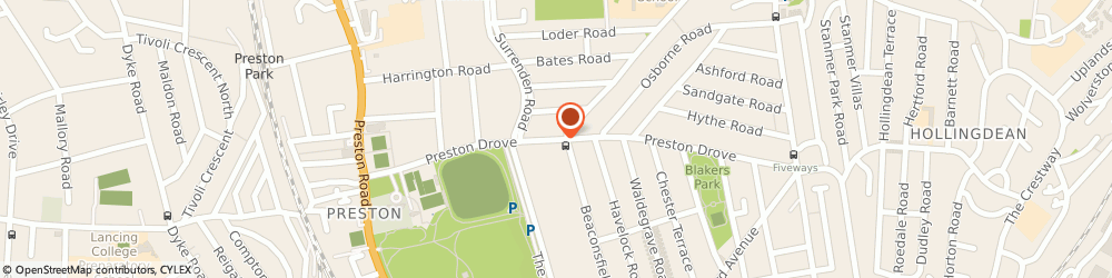 Route/map/directions to Barkers & Queens, BN1 6LD Brighton, 93 PRESTON DROVE