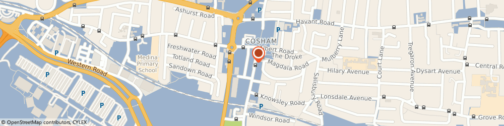 Route/map/directions to Domino's Pizza - Portsmouth - Cosham, PO6 3AG Portsmouth, 48d High Street