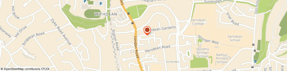 Route/map/directions to Tempo Arts, BN1 6TD Brighton, 24 WELLINGTONIA COURT, LAINE CLOSE