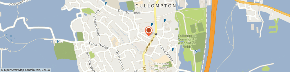Route/map/directions to Westcott Plastering, EX15 1HA Cullompton, 1 New Street