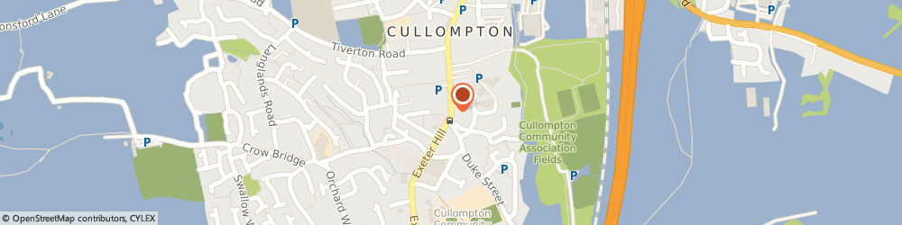 Route/map/directions to Solent Mortgage Services, EX15 1JY Cullompton, LAVINGTON HOUSE, 63 FORE STREET