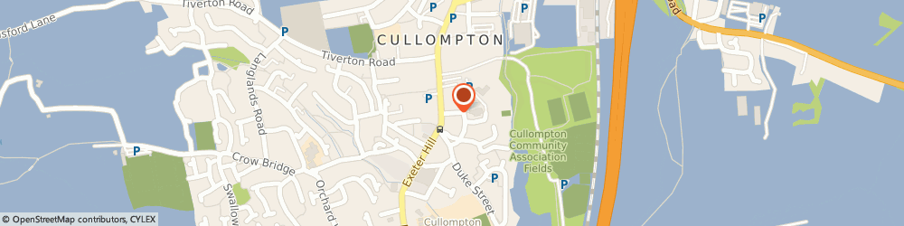 Route/map/directions to St Andrew's Church, EX15 1JU Cullompton, Church St