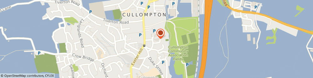 Route/map/directions to 2 Sisters Food Group Willand, EX15 2PJ Cullompton, Street