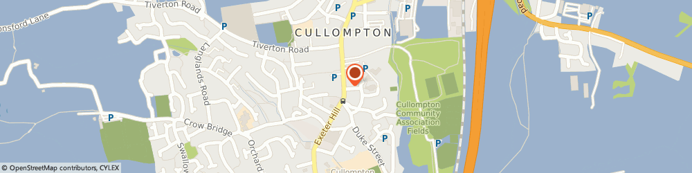 Route/map/directions to Cullompton Kebab House, EX15 1JT Cullompton, 55 Fore Street