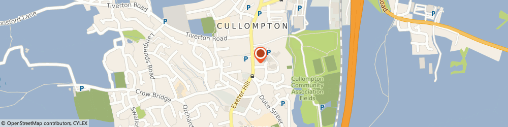 Route/map/directions to Hair Mania, EX15 1JT Cullompton, 51 Fore St