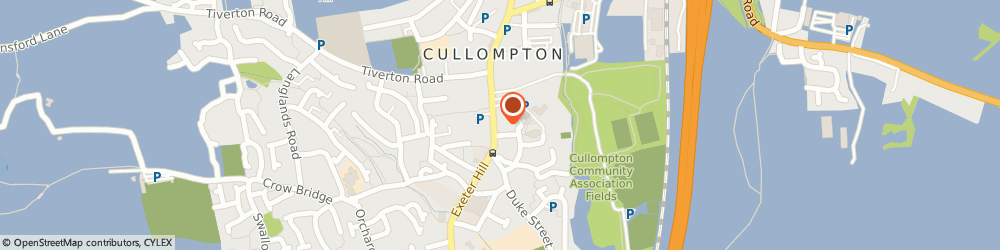 Route/map/directions to Virginias Hairdressers, EX15 1JT Cullompton, 47 Fore St