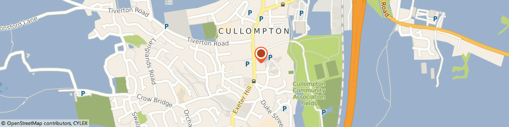 Route/map/directions to Moonlight Pizzas, EX15 1JS Cullompton, 39 Fore St