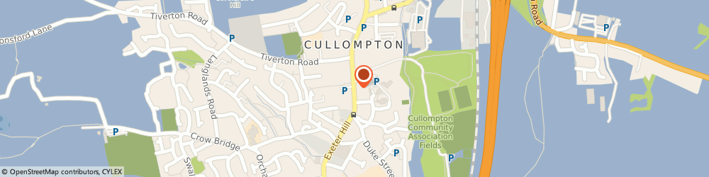 Route/map/directions to Secondhand Shop, EX15 1JS Cullompton, 37 Fore Street