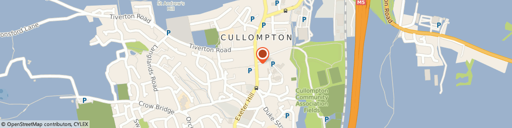 Route/map/directions to Lawes, EX15 1LF Cullompton, 38 FORE STREET