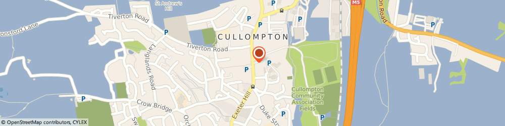 Route/map/directions to Dynamix Hair & Beauty Co, EX15 1LB Cullompton, 64, Fore St
