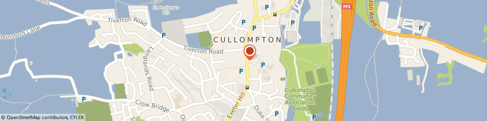 Route/map/directions to Manor House Hotel, EX15 1JL Cullompton, 2-4 Fore St