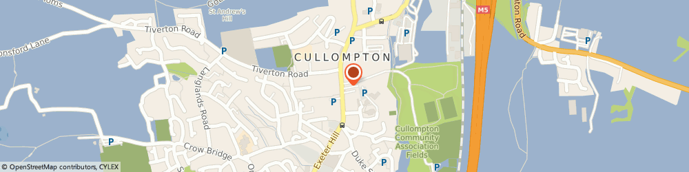 Route/map/directions to White Hart Inn, EX15 1JS Cullompton, 19 Fore St