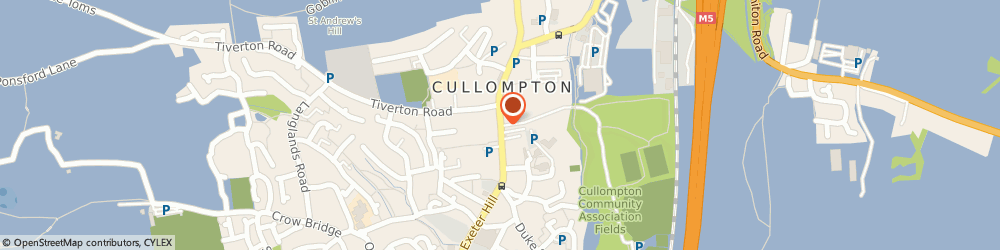 Route/map/directions to C M Pring, EX15 1LZ Cullompton, OBURNFORD FARM
