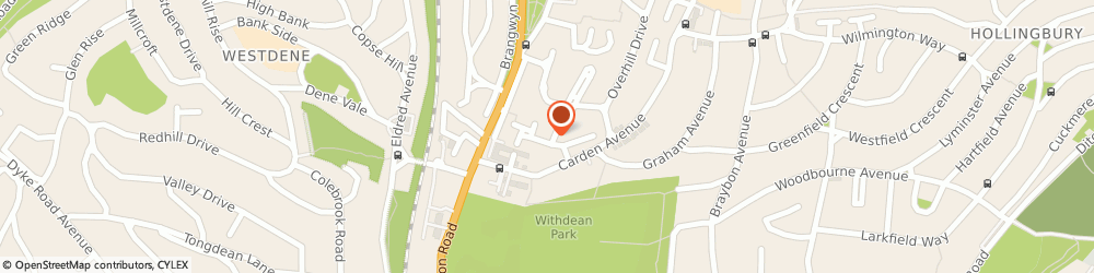 Route/map/directions to Hawk and Trowel Plastering Centre, BN1 8ND Brighton, 3 Overhill Gardens
