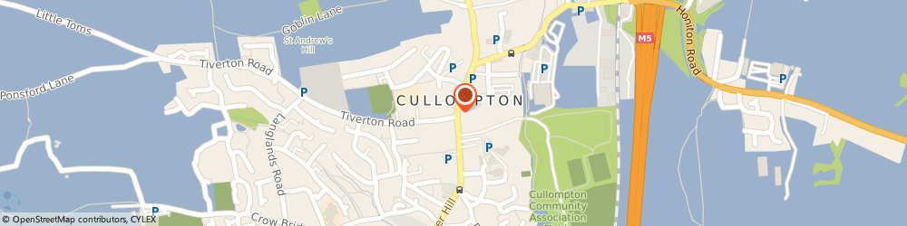 Route/map/directions to COSTA COFFEE, EX15 1AA Cullompton, 2 High Street
