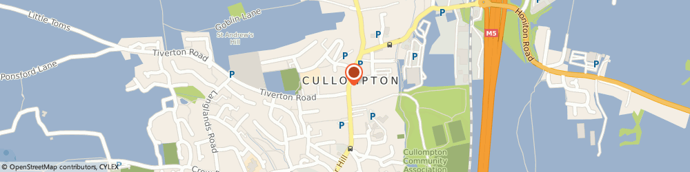 Route/map/directions to Seddons, EX15 1AA Cullompton, 6 High Street